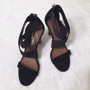 Donald J. Pliner Strappy Black Heels